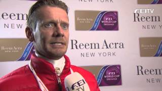 Reem Acra FEI World Cup™ Dressage Final 2014 - Lyon - Edward Gal GP Interview