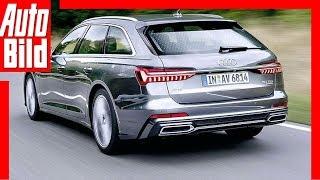 Audi A6 Avant (2018) Erste Fahrt / Test / Review