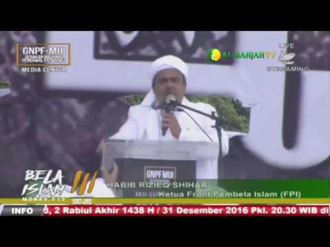 Khutbah Jum'at 212 Aksi Bela Islam III   Al Habib Muhammad Rizieq Syihab