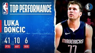 Luka Records 40-PT & 10-AST Double-Double, Leads Mavericks To Win!