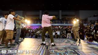 Popping Final Battle:政治大學 vs 台灣大學|181223 College High vol.14 Stage3