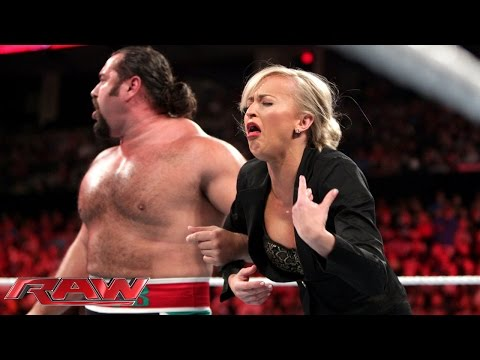Rusev offers gifts