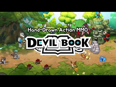 [Devil Book] Hand-Drawn Action MMO