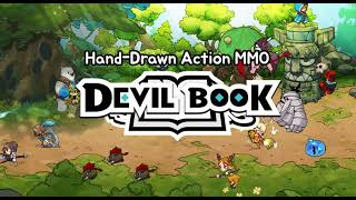 Devil Book: Hand-Drawn Action MMO