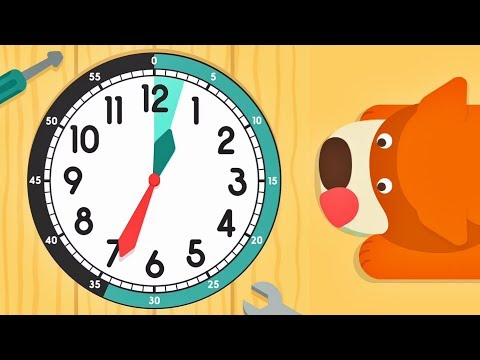 Tell time with Mulle Meck ⏲️ Top Clock learning App for Kids
