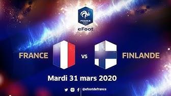 France VS Finlande #FRAFIN Du foot à l'eFoot !