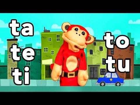 sílabas-ta-te-ti-to-tu---el-mono-sílabo---videos-infantiles---educación-para-niños-#