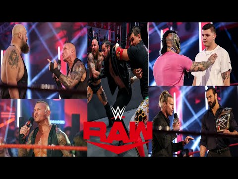 Drew McIntyre new Challenger Randy vs Big Show Rey attack Rollins with his team WWE Raw HIGHLIGHTS