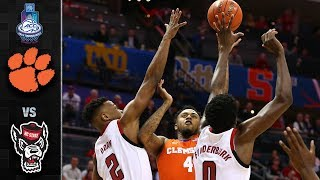 Clemson vs. NC State ACC Basketball Tournament Highlights (2019)