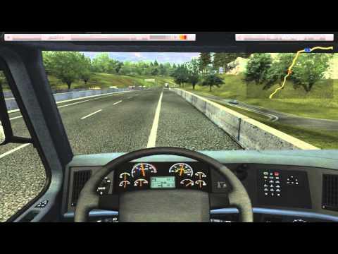обзор игры german truck simulator