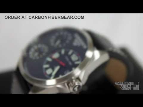 Torgoen T08101 Carbon Fiber Watch From CarbonFiberGear.com