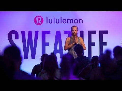 lululemon | 60 minute yoga session with Global Ambassador Ryan Leier at Sweatlife Festival