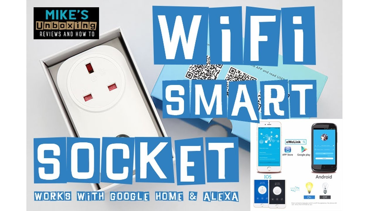 WIFI Smart Socket Cheapest Alexa Enabled IOT Plug