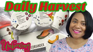 Daily Harvest, What's In This Box? | Food Subscription Box Unboxing | The LD Coach | Cindy Lumpkin