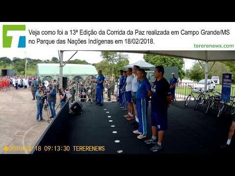MELHORES MOMENTOS DA 13º CORRIDA DA PAZ EM CAMPO GRANDE/MS