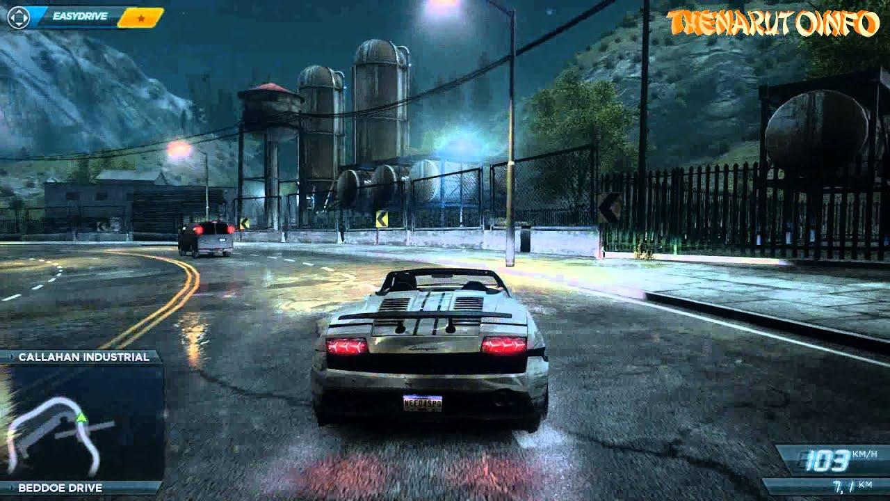 Need For Speed Most Wanted : Lamborghini gallardo & Nissan ...