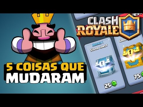 5 Coisas Que Mudaram No Clash Royale Clash Royale Dicas