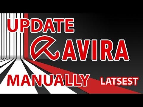 How To Update Avira Antivirus Manually - Get Avira Manual Update File
