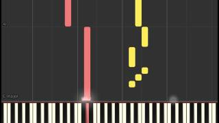 Doctor Strange Soundtrack: The Master of the Mystic End Credits (Piano sheet & Synthesia)