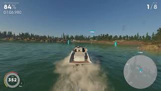 "The Crew 2 - ""Bar Harbor"" Power Boat Race in under 1:20 (Top Leaderboard Run)"
