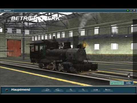 Trainz Railroad Simulator 2009 Dampfloks 3 Youtube