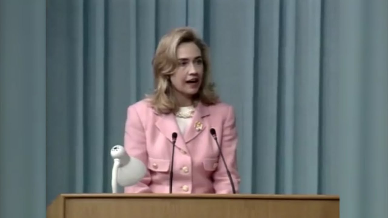 Hillary Clinton On THAT Women's Rights Are Human Rights' Speech