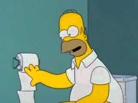 simpson chante dans les toilettes de son travail youtube. Black Bedroom Furniture Sets. Home Design Ideas