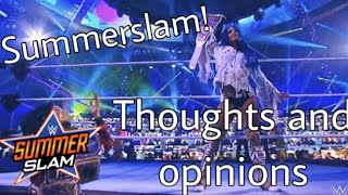 Summerslam thoughts and opinions   Princess Mella