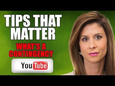 HOW TO DEAL WITH A CONTINGENCY | REAL ESTATE TIPS