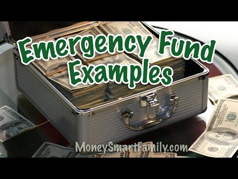 Emergency Fund Examples: How Much to Save and Where to Keep It - 7 pm Pacific Time Today