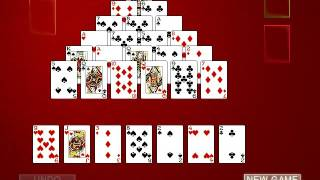 Hoyle Card Games 2002: Solitaire - Pyramid