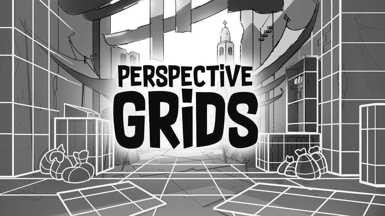 Perspective Drawing In Photoshop Grids And Tips Youtube