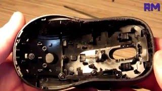 Разборка - сборка мыши Logitech M510. Грязь за 4 года