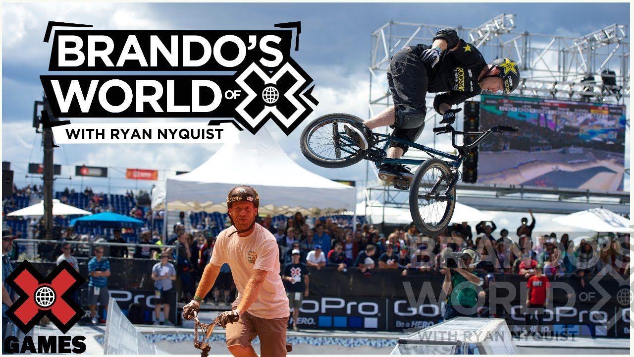 RYAN NYQUIST: I'm Afraid of Heights | World of X Games