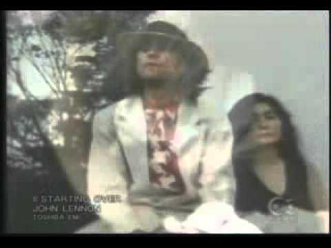 John Lennon - Starting Over (Official Music Video)