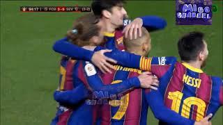 Барселона 3 0 Севилья Обзор 1 2 финала кубка Испании 03 03 2021