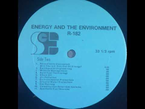Energy and the Environment: Shale Oil (1980)