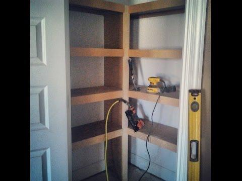 Interior Trim Carpentry Custom Closet Shelving