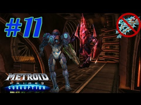 Metroid Prime 3: Corruption No Hypermode Challenge: Part 11 (Escort Mission and Omega Ridley)