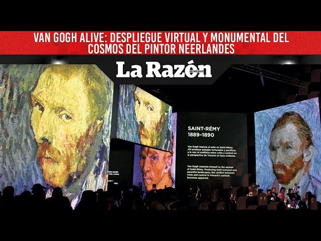 Van Gogh Alive: despliegue virtual y monumental del cosmos del pintor neerlandes