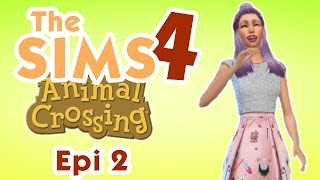 Começando a Coleção! ♥ Animal Crossing | Epi 2 | The Sims 4 | Gameplay Lalaland