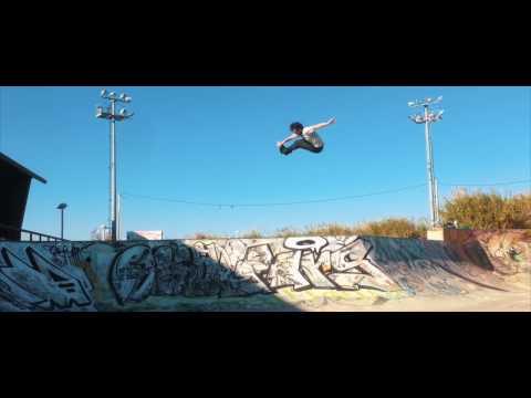 Nick Lomax - Portugal Park Sessions - USD SKATES Aeon 60 Charcoal Black