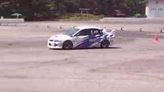 2008年JAF中部ジムカーナ地方選手権 第4戦 イオックスアローザ ...