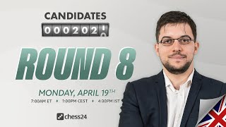 FIDE Candidates: Round 8 | Magnus Carlsen, David Howell & Tania Sachdev commentate
