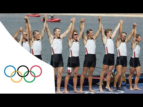 USA win first Rowing gold for 40 years - Men