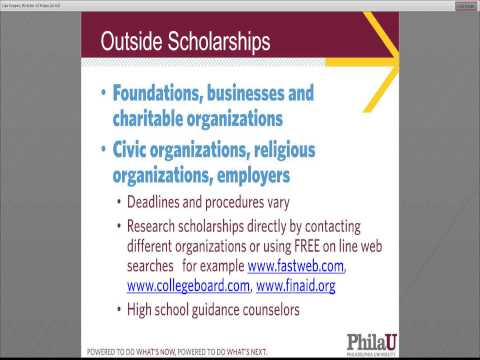 Philadelphia University: What is Financial Aid?