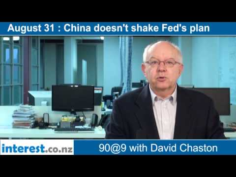 90 seconds @ 9am : China doesn't shake Fed's plan