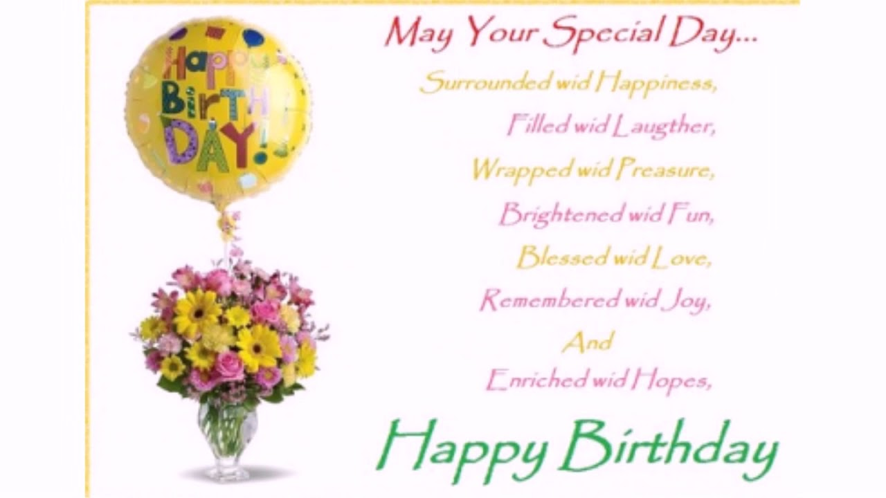5 Beautiful Birthday Wishes and Sweet Messages  WishesGreeting