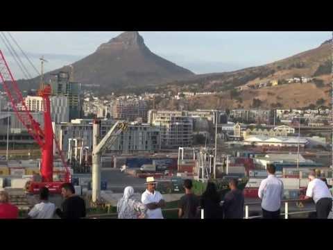 Cruising into Cape Town