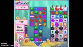 Candy Crush Level 316 Audio Talkthrough, 3 Stars 0 Boosters